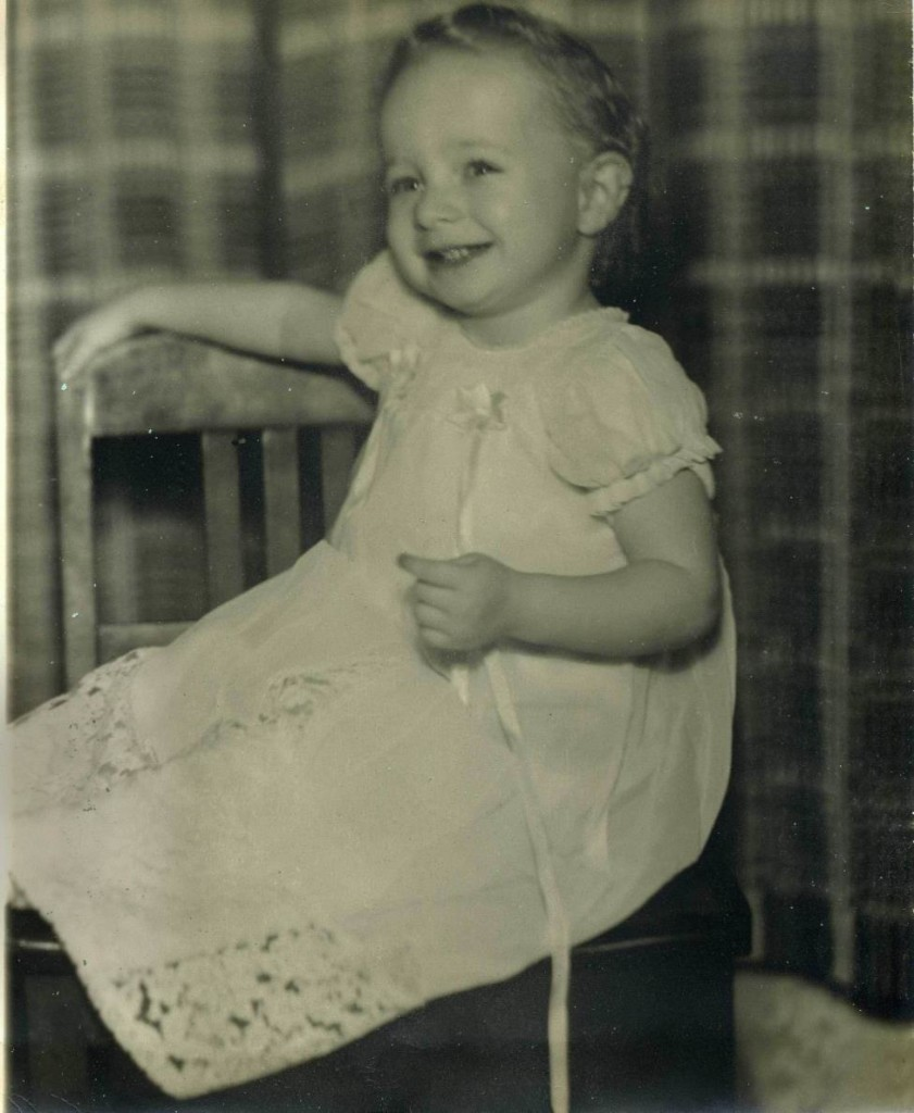 Patsy as a baby