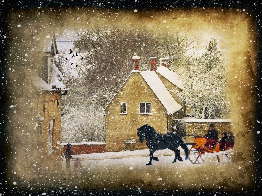 snowy scene 1